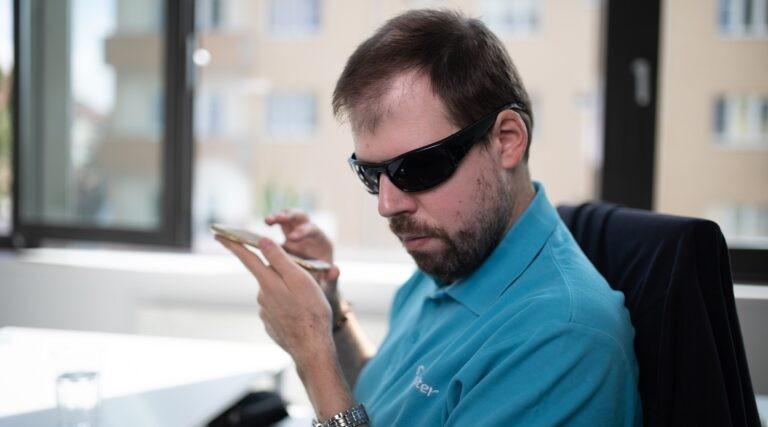 Roman Kabelka, auditor přístupnosti v MasterDC