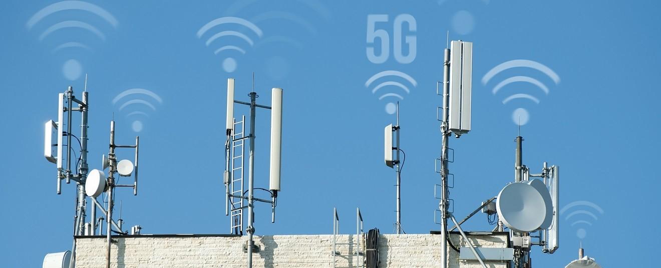 Vysílače 5G sítě