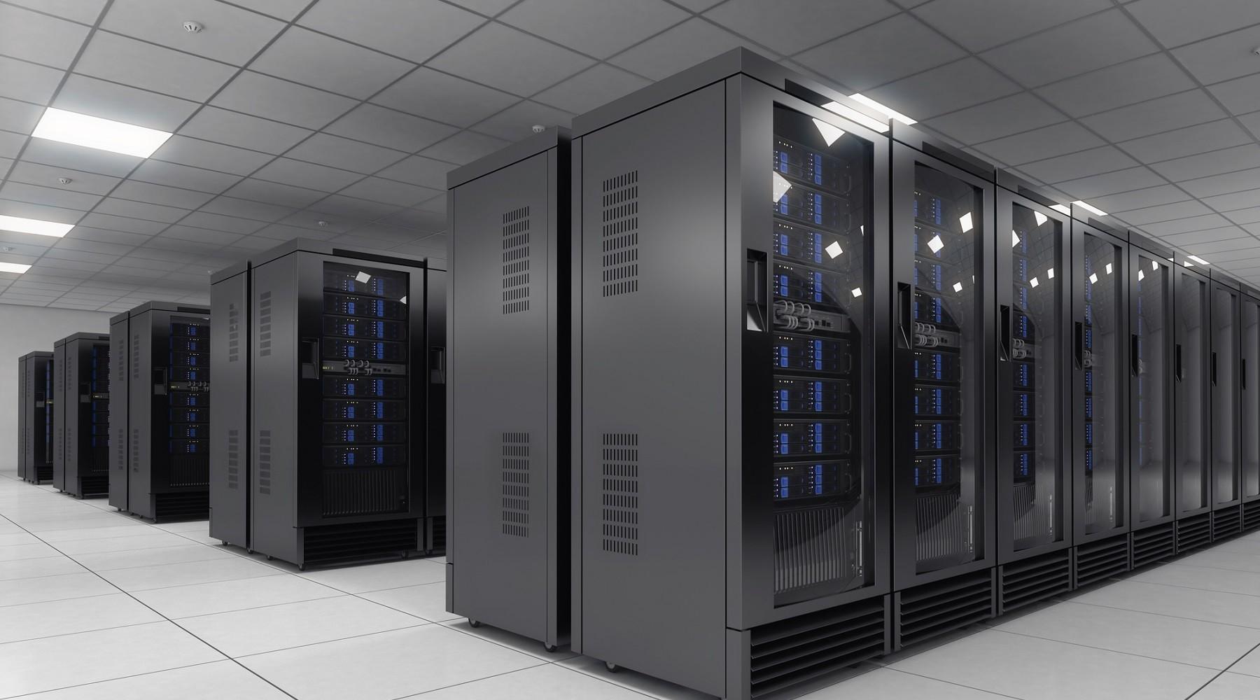 Profesionální datacentrum