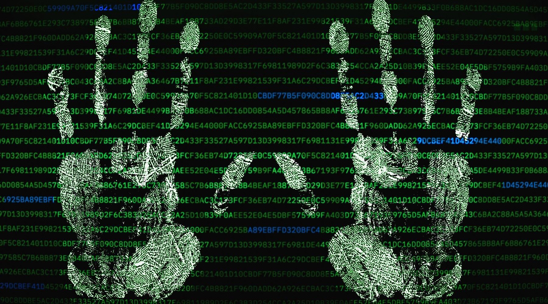 Biometrická autentizace rozpoznává krevní řečiště z dlaní.