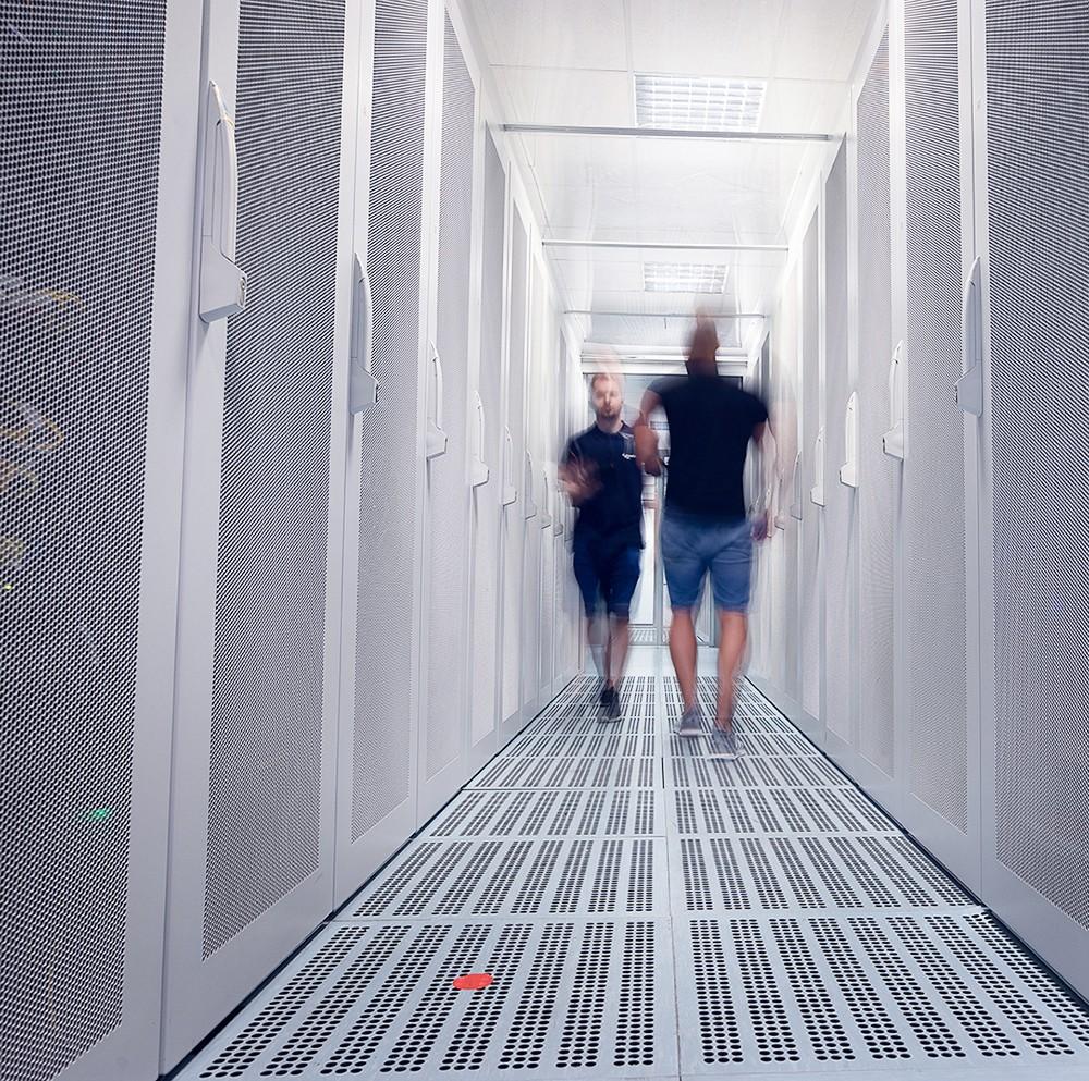 Prostory pražského datacentra