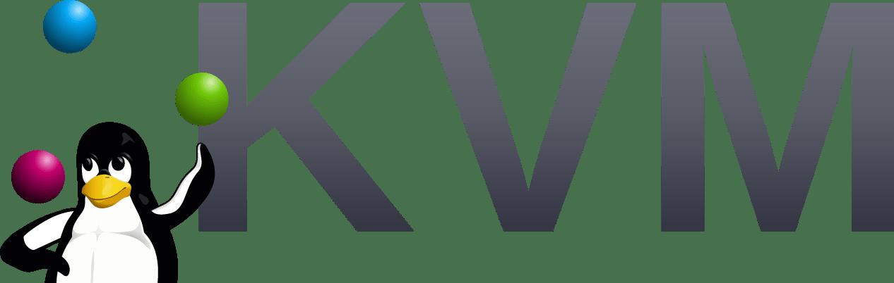 KVM virtualizace – Logo