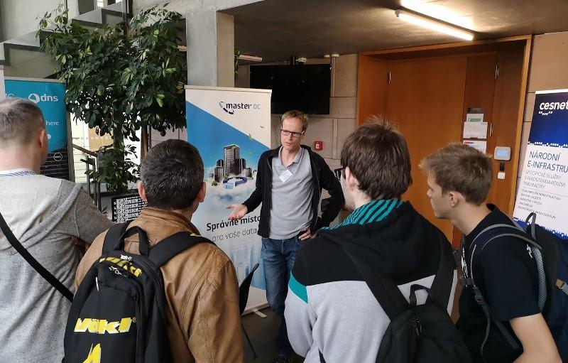 Martin Žídek, CTO na konferenci OpenAlt