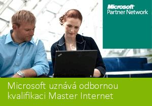 Master Internet získal odbornou kvalifikaci od Microsoftu