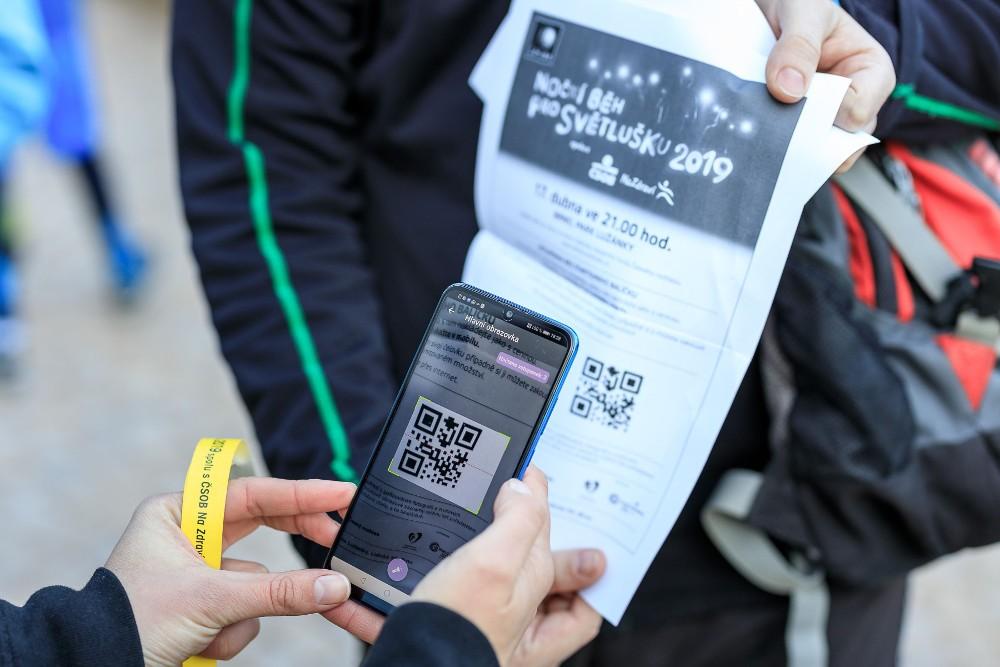Naše aplikace pro běh pro Světlušku