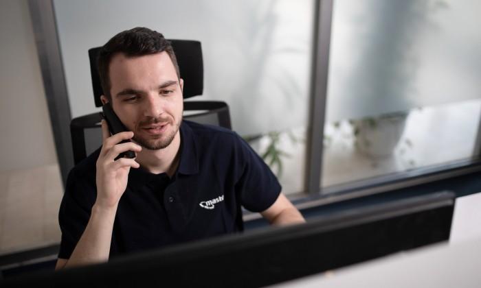 Technický support z pražského datacentra