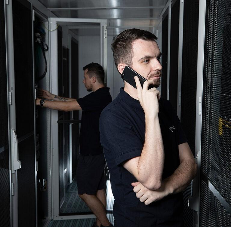 Telefonát supportu