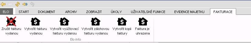 Ukázka úvodní strany softwaru Fido